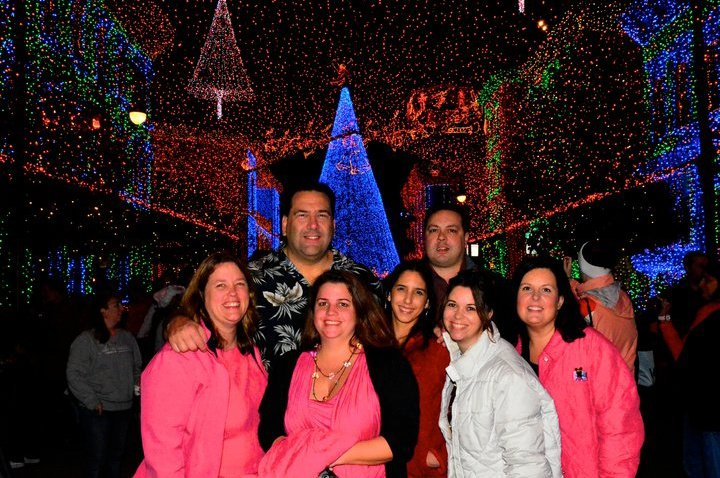 Diane, Chris, me, Maria, Marc, JL and Amanda A