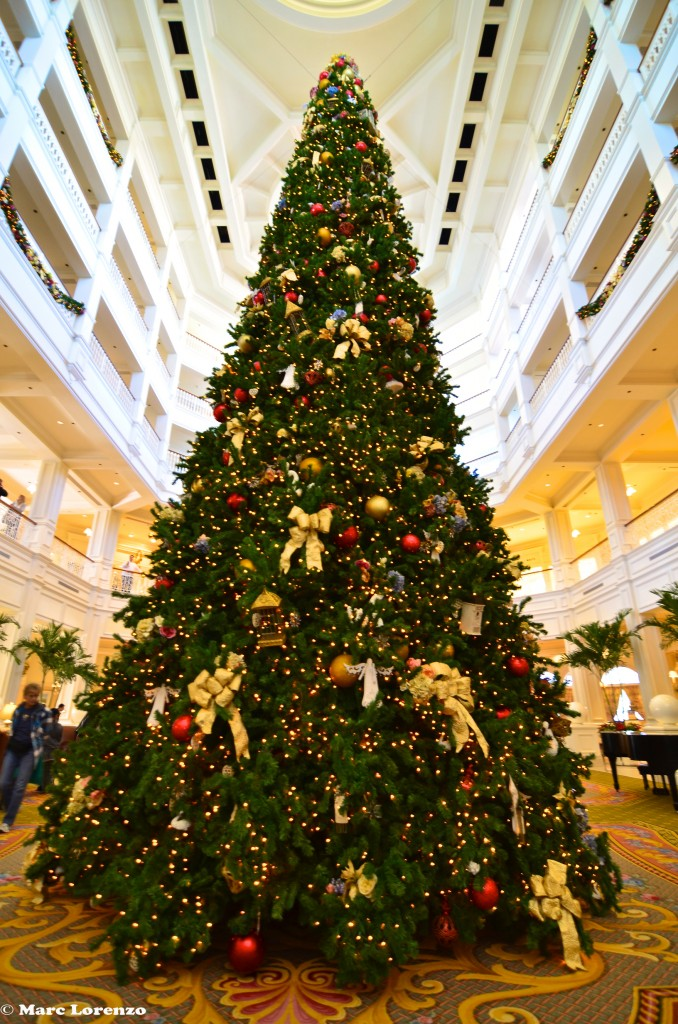 The Grand Floridian Christmas Tree (1)