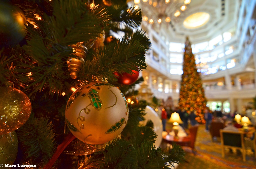 The Grand Floridian Defocused Christmas Tree (1)