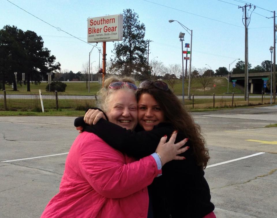 Jackie and I in Georgia